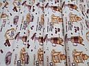 Ткань вафельная ширина 50 см Кофемания, фото 3