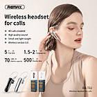 Bluetooth гарнитура Remax RB-T32 беспроводная моно гарнитура, наушник с микрофоном, черный, фото 5