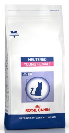 Royal Canin (Роял Канин) NEUTERED YOUNG FEMALE Сухой корм для кастрированных/стерилизованных кошек до 7 лет,