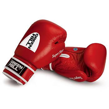 Перчатки боксерские Green Hill Super Star лицензированные AIBA