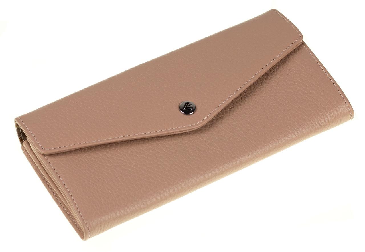 Женский кошелек Eminsa 2184-37-31 кожаный пудровый