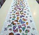 Ткань вафельная ширина 50 см Бабочки, фото 2