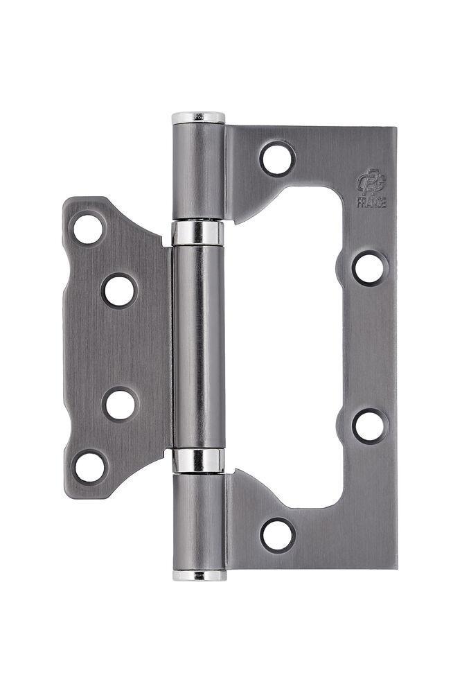 Петля стальная Gavroche 100x75x2.5 B2 Бабочка MBN - графит