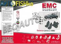 Чохли модельні автомобільні EMC-Elegant (тканинні) / Чехлы модельные Lanos ЗАЗ бугорки на зад. спин (тканевые)