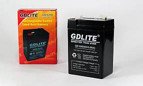 Акумулятор Battery GD 640 6V 4A (Реальна ємність -40)