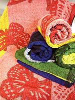 Махровое банное полотенце Бабочка жаккард
