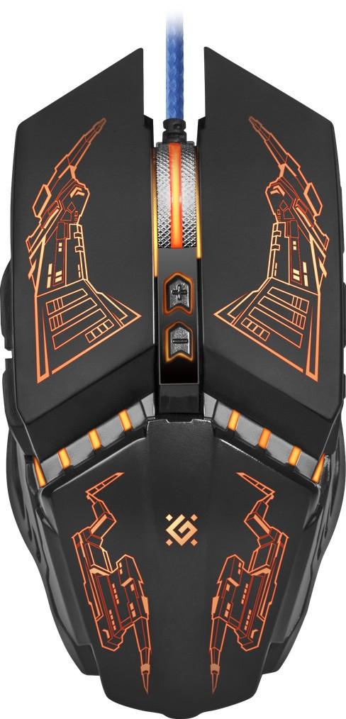 Мышь Defender Halo Z GM-430L Black