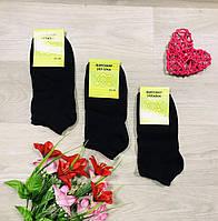 Носки демисезонные хлопок укороченные Житомир ТМ Стандарт размер 36-40 черные