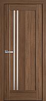 """Міжкімнатні двері """"Делла"""" G 900, колір золота вільха , ліві"""