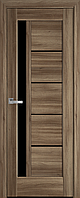 """Міжкімнатні двері """"Грета"""" BLK 600, колір золотий дуб , ліві"""