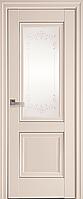 """Міжкімнатні двері """"Імідж"""" G + ML2 600, колір магнолія з малюнком Р2"""