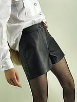 Кожаные шорты подростковые р140-164