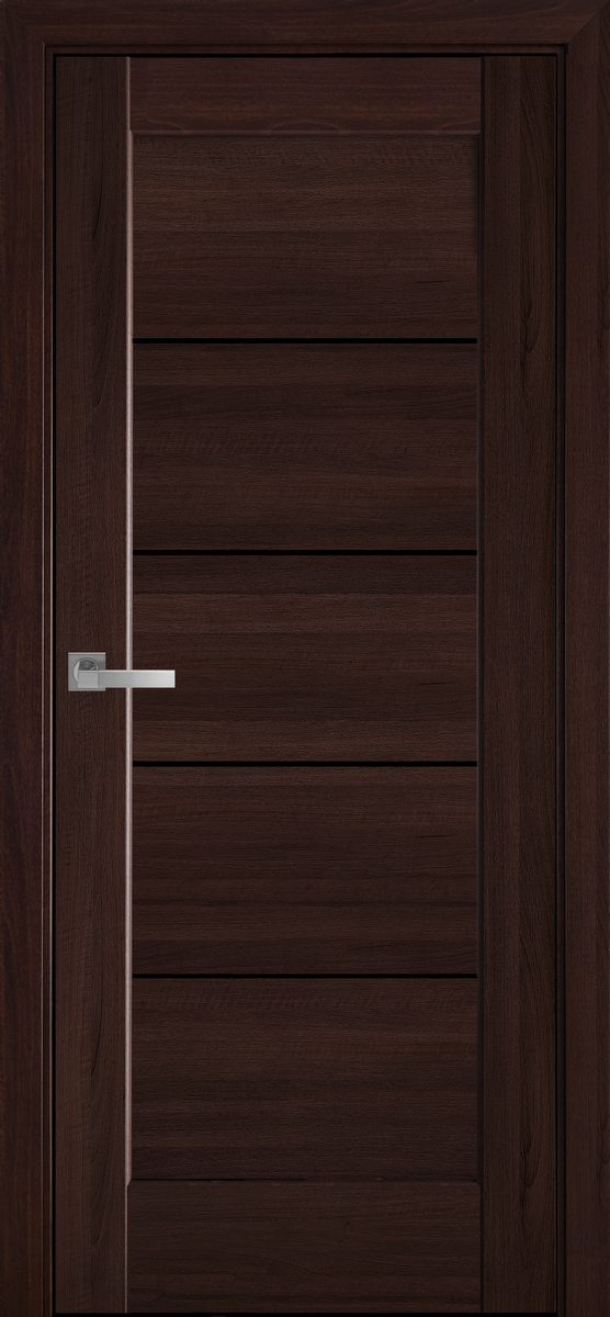 """Міжкімнатні двері """"Міра"""" BLK 900, колір каштан"""