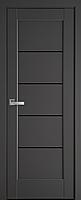 """Міжкімнатні двері """"Міра"""" BLK 600, колір антрацит"""