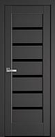 """Міжкімнатні двері """"Ліннея"""" BLK 600, колір антрацит"""
