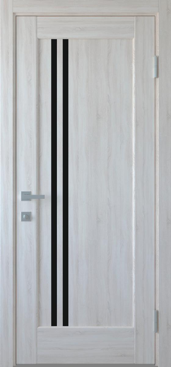 """Міжкімнатні двері """"Делла"""" BLK 800, колір ясен new , ліві"""