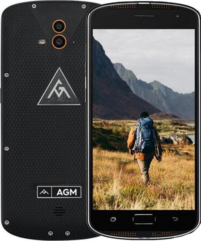 Смартфон AGM X1 4/64GB LTE Black