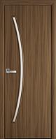 """Міжкімнатні двері """"Діва"""" G 600, колір вільха 3D , ліві"""