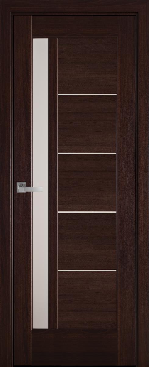 """Міжкімнатні двері """"Грета"""" G 700, колір каштан , ліві"""