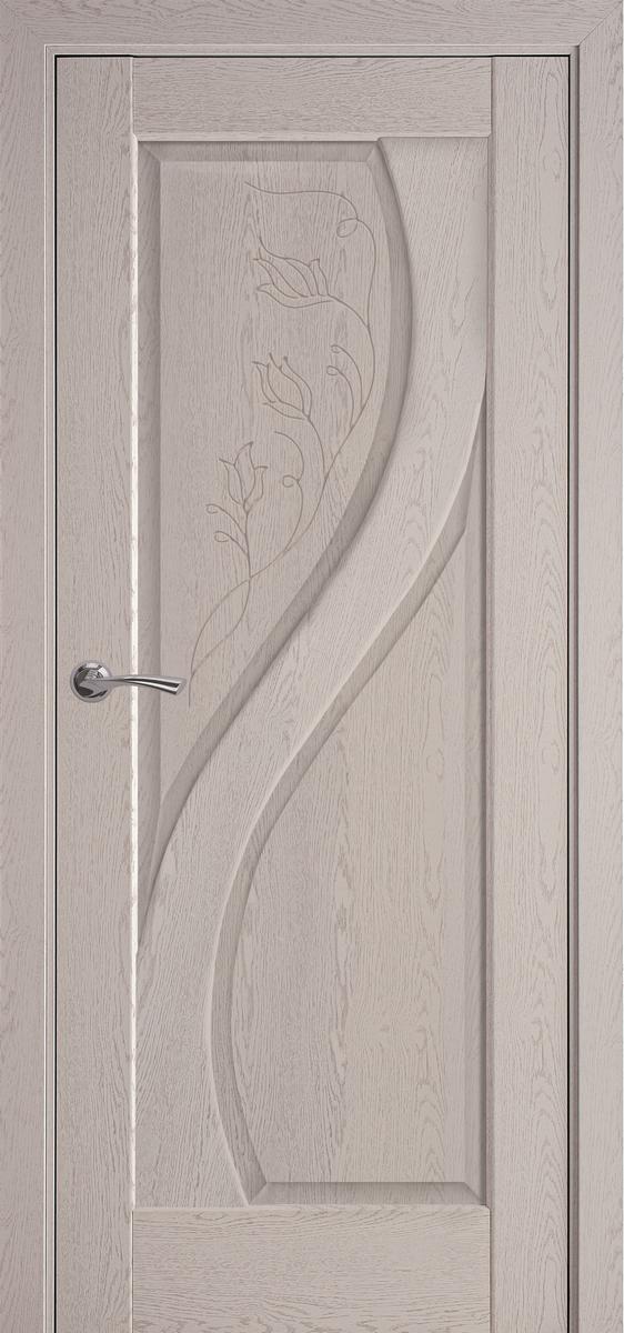 """Міжкімнатні двері """"Прима"""" GR 800, колір патина сіра"""