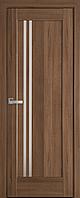"""Міжкімнатні двері """"Делла"""" G 700, колір золота вільха , ліві"""
