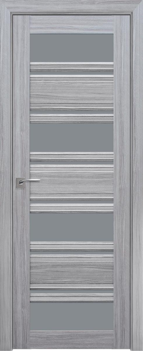 """Міжкімнатні двері """"Венеція C2"""" GRF 600, колір срібна перлина"""