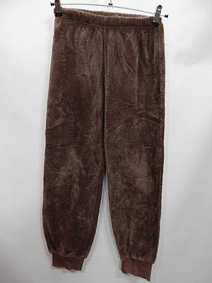 Женские меховые домашние теплые брюки флис  р.40-42  003GDB
