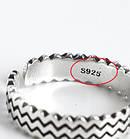 Серебряное Кольцо Женское City-A Кольцо из Серебра 925 Волны Регулируемое Безразмерное №3001, фото 4