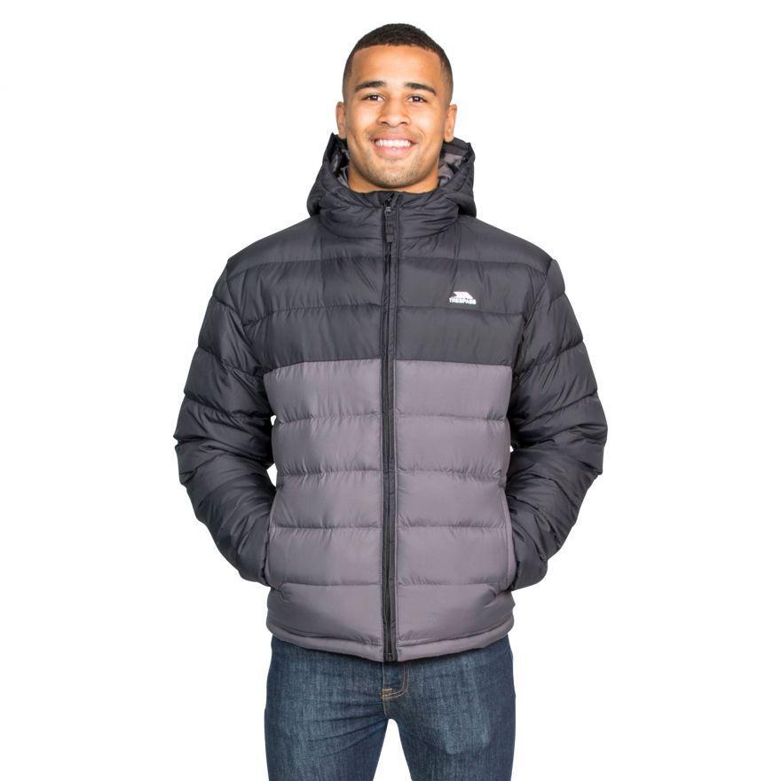 Зимняя мужская куртка пуховик Trespass MAJKCAN20007 Black