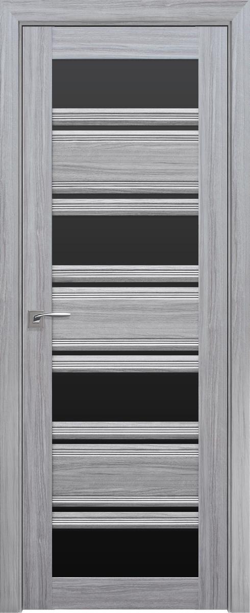 """Міжкімнатні двері """"Венеція C2"""" BLK 700, колір перлина срібна"""