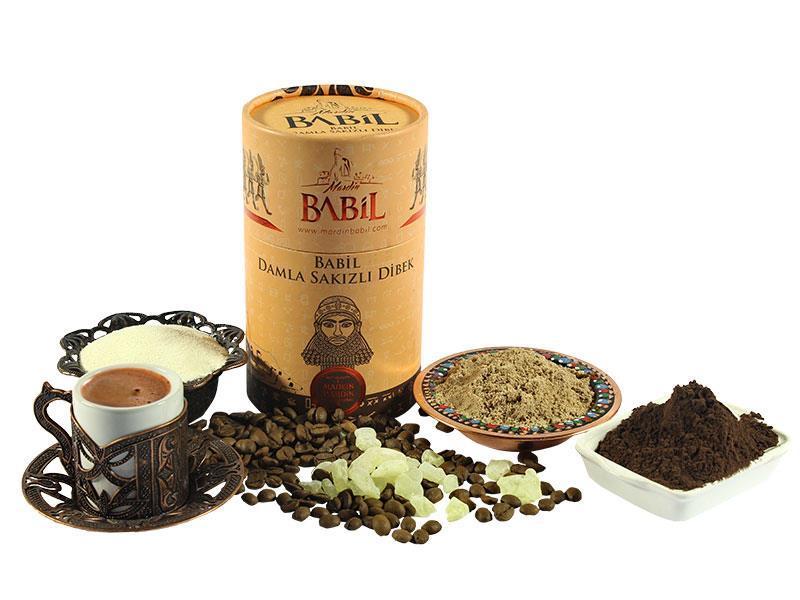 Османский кофе Mardin Babil Damla Sakızlı Dibek с мастикой 250 г
