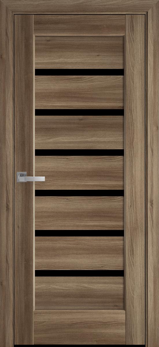 """Міжкімнатні двері """"Ліннея"""" BLK 800, колір золотий дуб"""