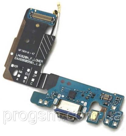 Разъем зарядки LG G8 ThinQ (с платкой) Original