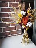 Букет из сухоцветов и стабилизированных цветов,, фото 2