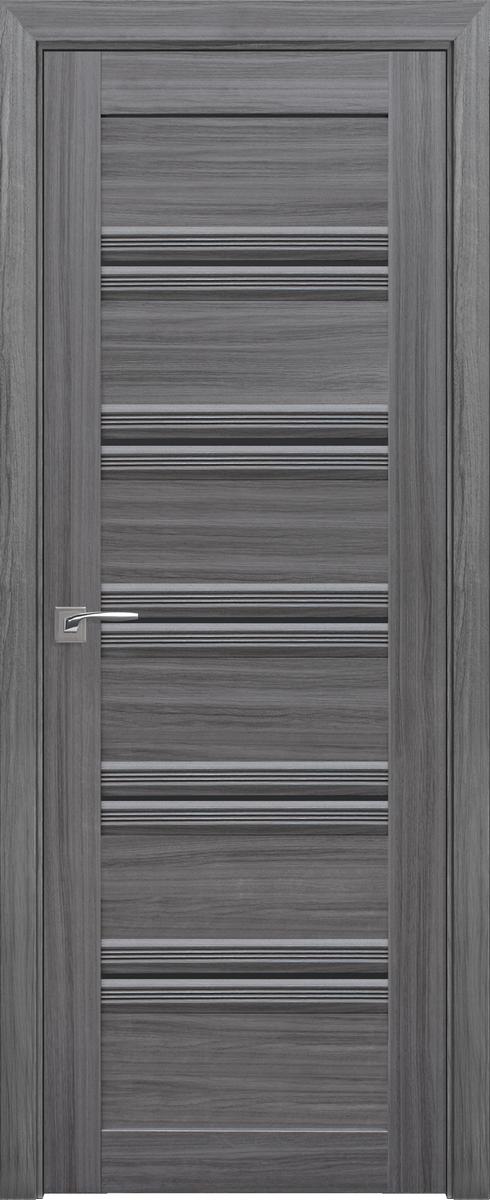 "Міжкімнатні двері ""Віченца C1"" BLK 700, колір перлина графіт"