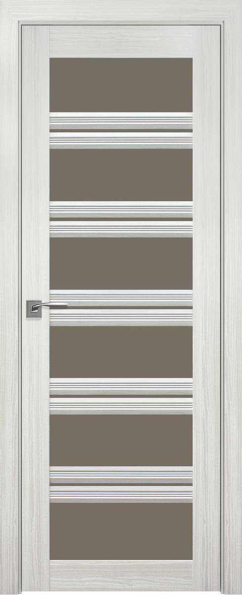 """Міжкімнатні двері """"Віченца C2"""" BR 700, колір біла перлина"""