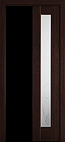 """Міжкімнатні двері """"Рада"""" G 400, колір каштан з малюнком Р4 , ліві"""