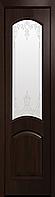 "Міжкімнатні двері ""Антре"" G 400, колір каштан з малюнком Р3"