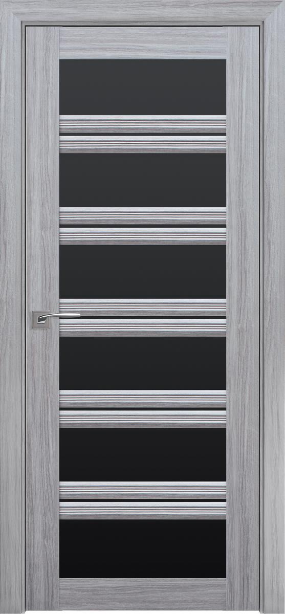 "Міжкімнатні двері ""Віченца C2"" BLK 900, колір срібна перлина"