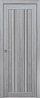 """Міжкімнатні двері """"Верона C1"""" GRF 600, колір перлина срібна"""