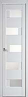 """Міжкімнатні двері """"Піана"""" G 400, колір білий матовий"""