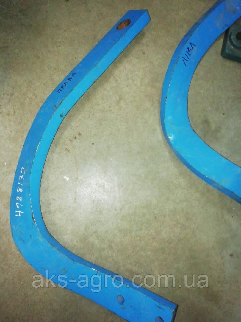 Стійка кріплення диска права 60х25х900 4128170 Lemken