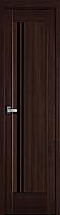 """Міжкімнатні двері """"Делла"""" BLK 400, колір каштан"""