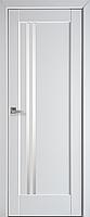 """Міжкімнатні двері """"Делла"""" G 600, колір білий матовий , ліві"""