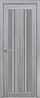 """Міжкімнатні двері """"Верона C2"""" GRF 600, колір перлина срібна"""
