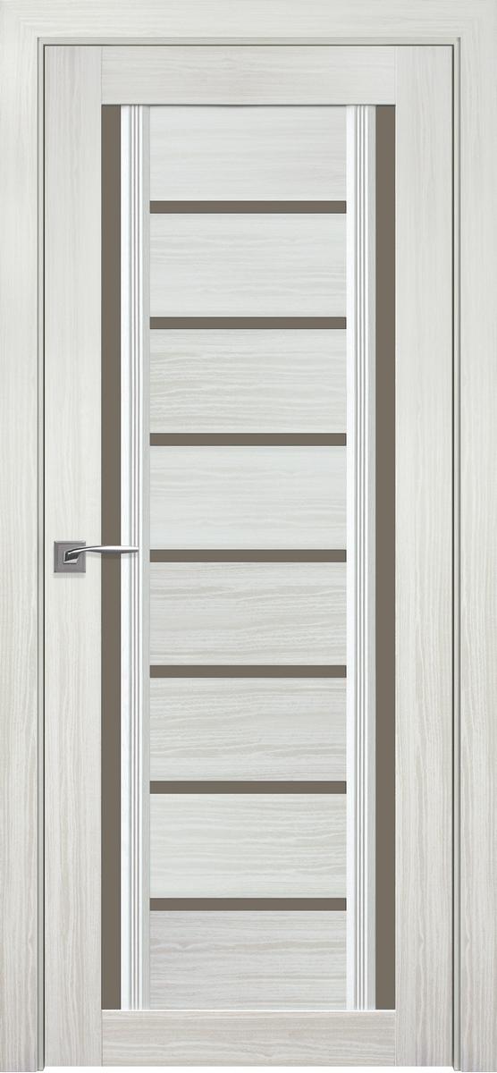 "Міжкімнатні двері ""Флоренція C2"" BR 800, колір перлина біла"