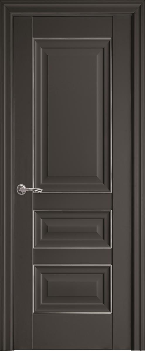 """Міжкімнатні двері """"Статус"""" A + ML2 700, колір антрацит"""