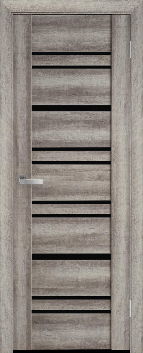 """Міжкімнатні двері """"Валенсія"""" BLK 600, колір бук баварський"""