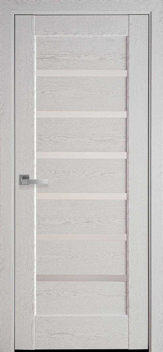 """Міжкімнатні двері """"Ліннея"""" G 800, колір патина сіра"""