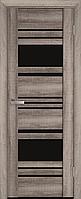 """Міжкімнатні двері """"Ніцца"""" BLK 600, колір бук баварський"""
